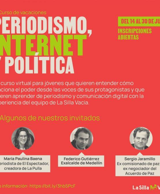 Curso de vacaciones: Periodismo, Internet y política